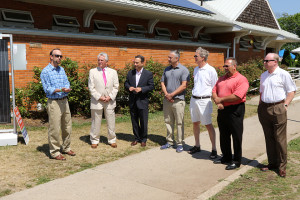 Calf Pasture Beach Solar Installation
